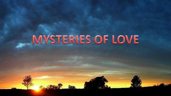 Mysteries Of Love 2010