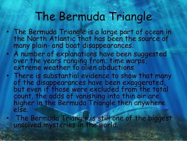 descriptive essay on bermuda triangle