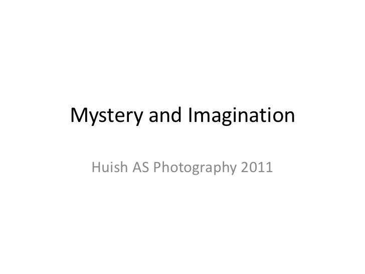Mystery And  Imagination Finals with names!