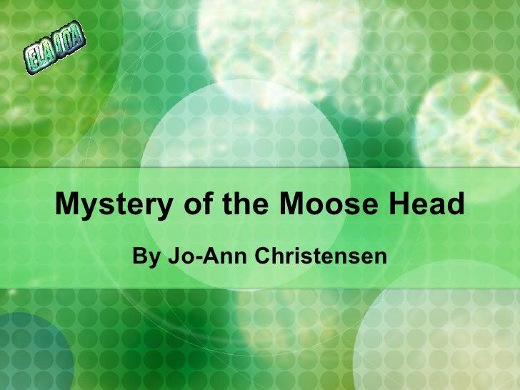 Mystery At The Moosehead Inn