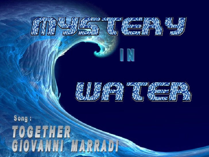 I N Song : TOGETHER GIOVANNI  MARRADI