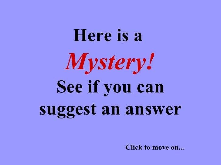 Mystery Spain