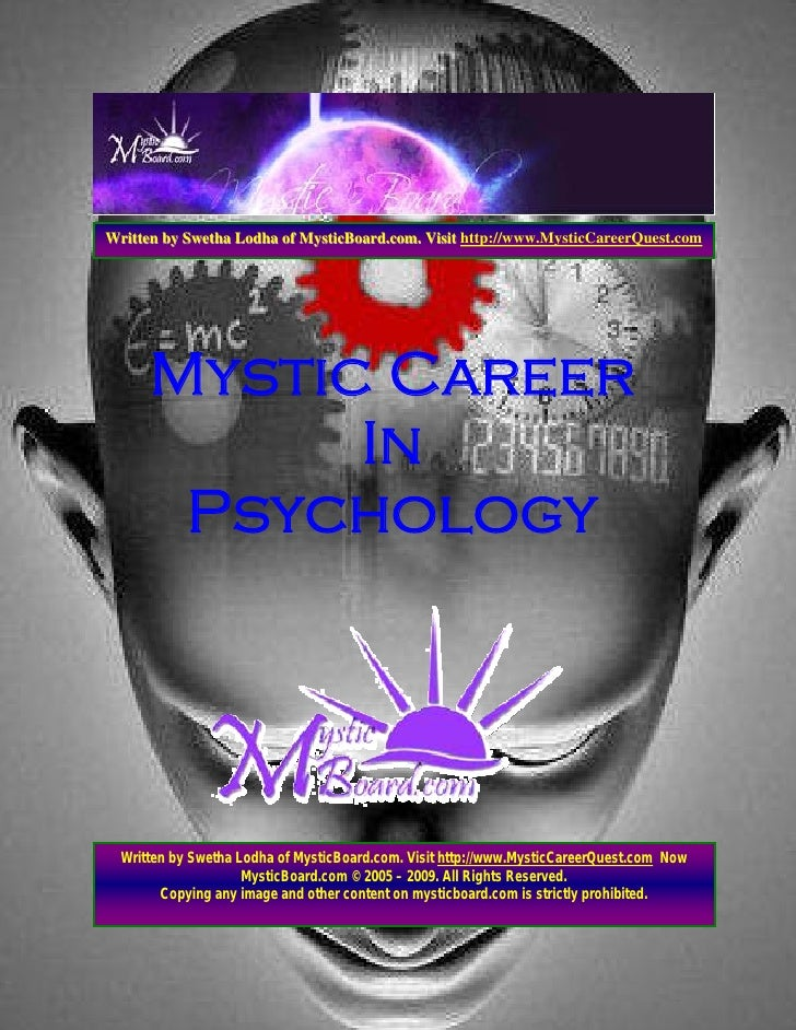 Written by Swetha Lodha of MysticBoard.com. Visit http://www.MysticCareerQuest.com           Mystic Career             In ...