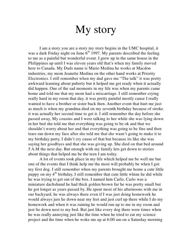 Marlo Medina My story