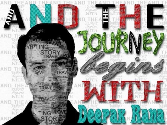 Journey of Deepak Rana: A Visual Resume