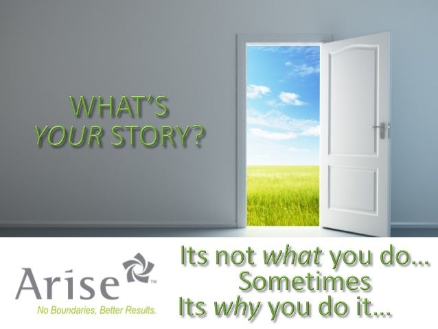 Competition Launch Competition Launch  Your Story Arise Virtual Solutions Inc., 2013. All Rights Reserved  2