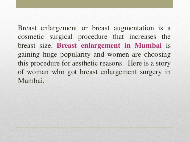 Breast Size Increase After Marriage Increases The Breast Size