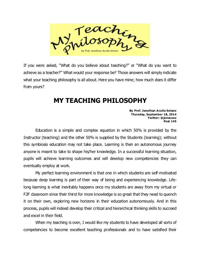 Write my philosophy education paper