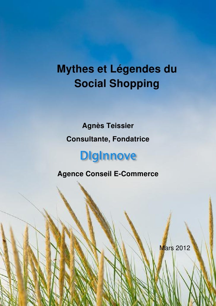 Mythes et légendes du social shopping 0312