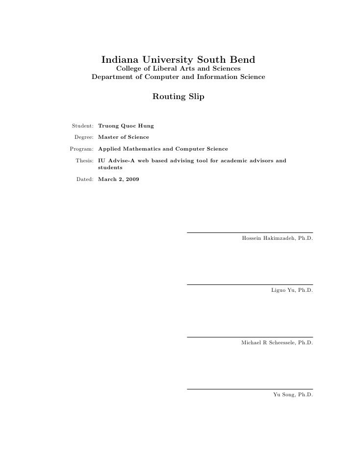 Phd thesis in mathematics
