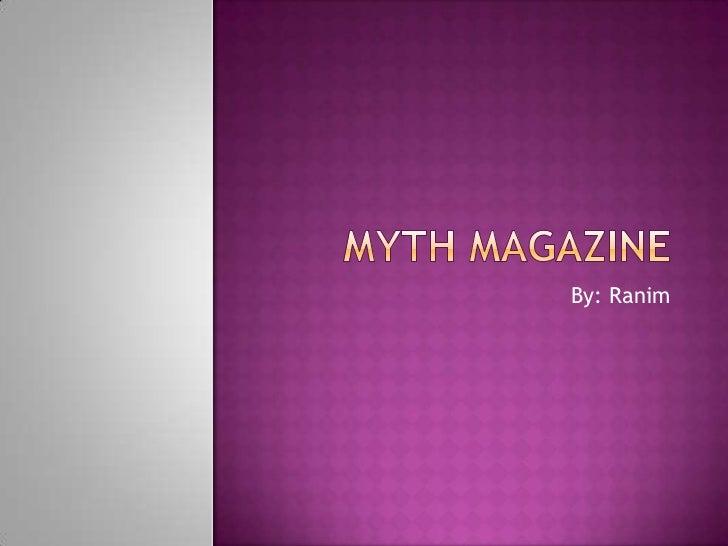 Myth magazine