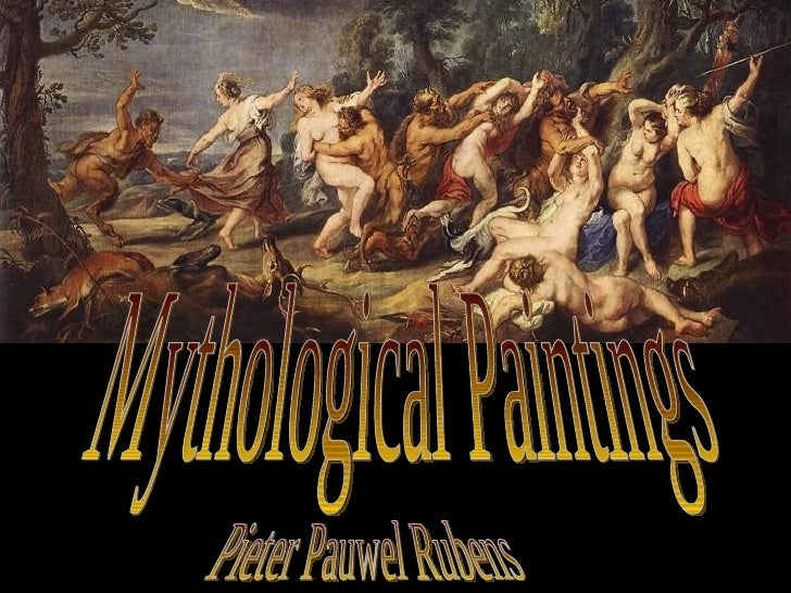 Mythological Paintings Pieter Pauwel Rubens