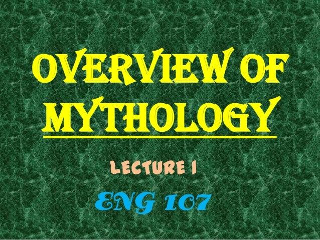 Mythology overview
