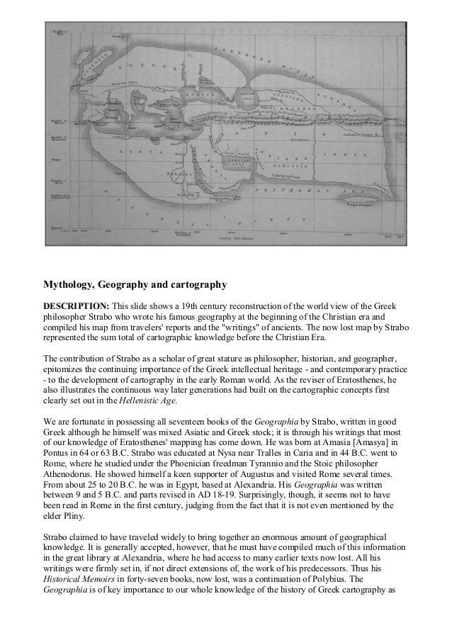 Mythology and Geography