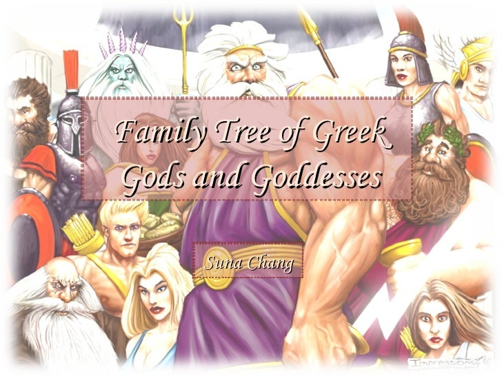 Mythology,Gods Family Tree