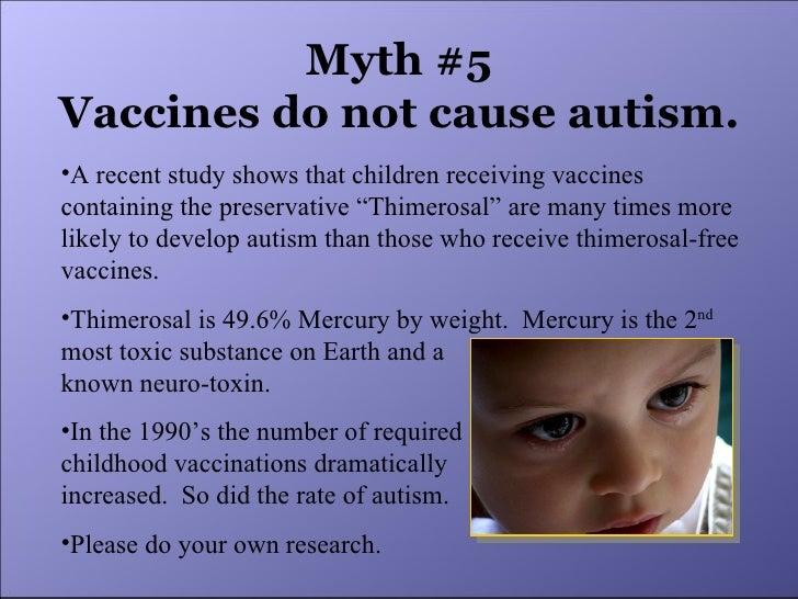 Do Vaccines Cause Autism advise