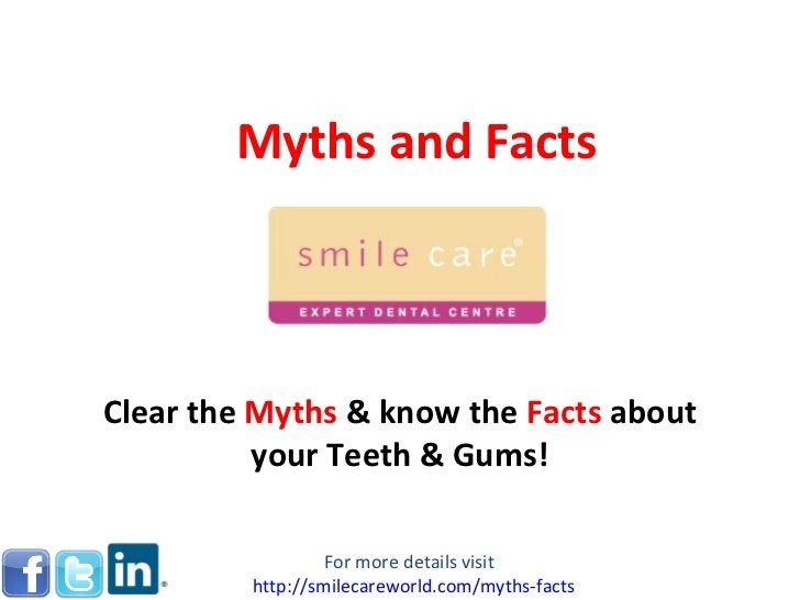 Myths and facts 15