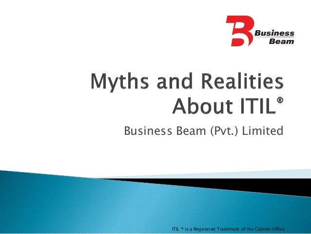 Business Beam (Pvt.) LimitedITIL ® is a Registered Trademark of the Cabinet Office
