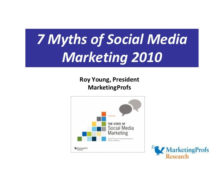 7 Social Media Marketing Myths