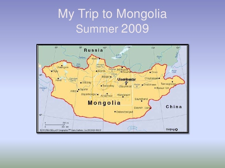 My Trip to Mongolia Summer 2009<br />