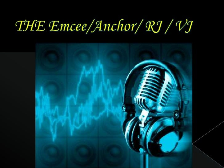 THE Emcee/Anchor/ RJ / VJ<br />