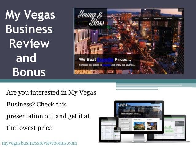 My Vegas Business Review and Bonus