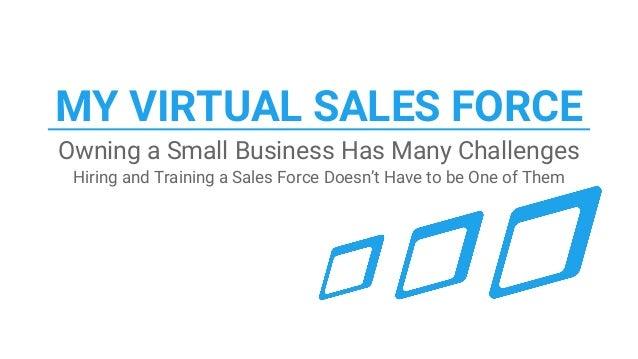 virtual sales presentation