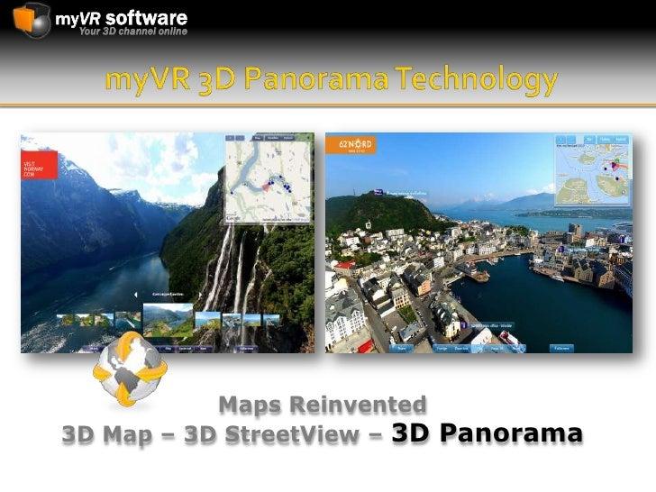 myVR 3D Panorama Technology