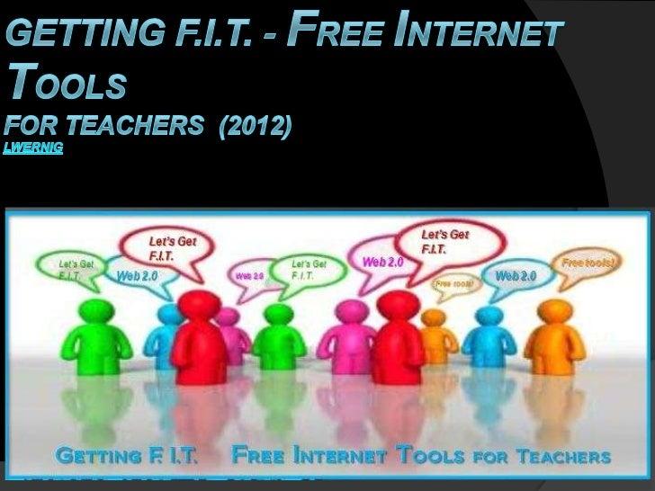 Web 2.0 Tools for Teachers 2012