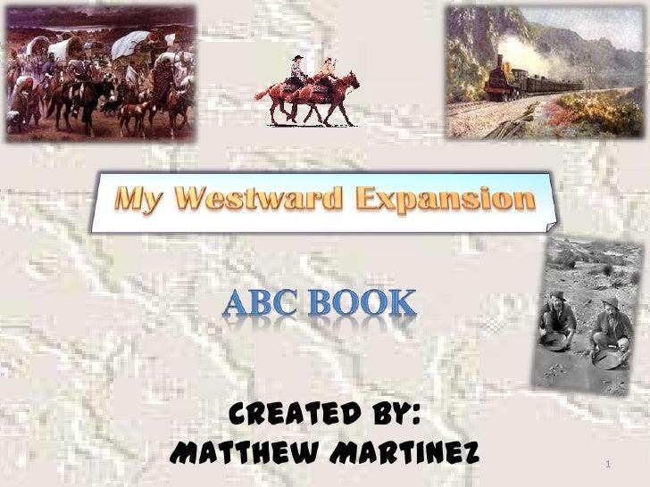 My Westward expansion