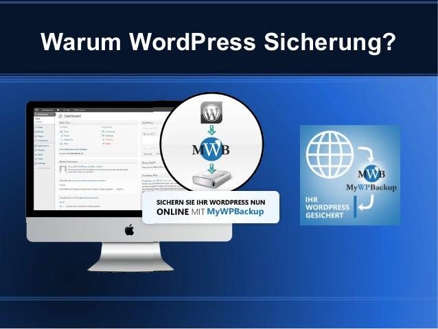Warum WordPress Sicherung?