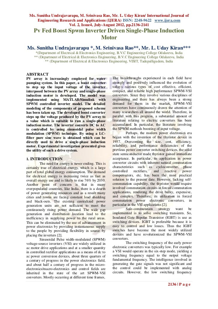 Ms. Sunitha Undrajavarapu, M. Srinivasa Rao, Mr. L. Uday Kiran/ International Journal of      Engineering Research and App...