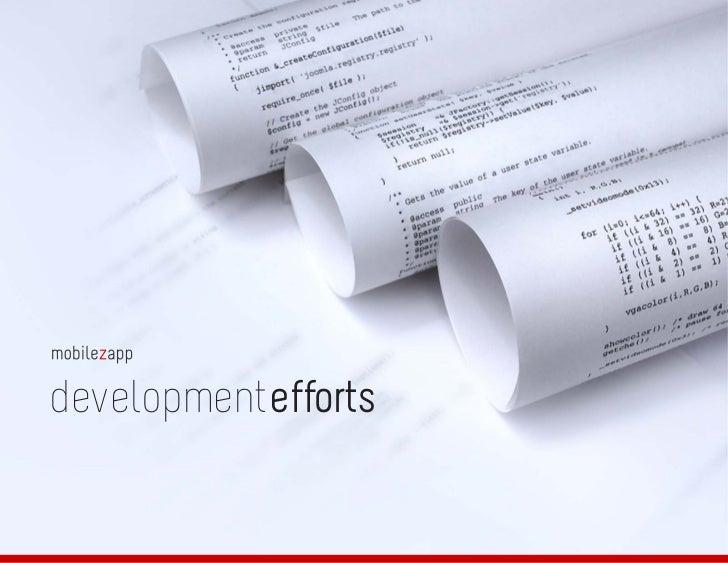 developmentprocessdevelopmentefforts