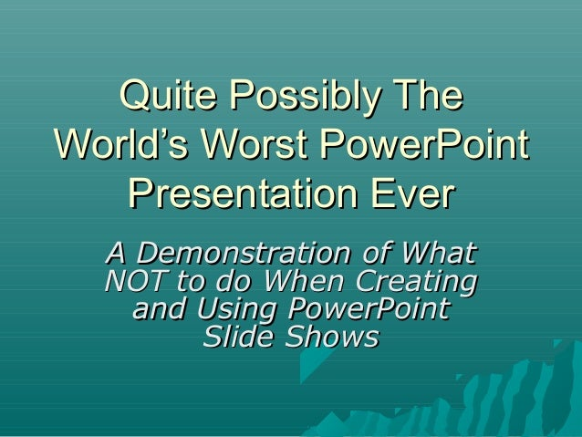 "A Review of ""Really Bad Powerpoint"" by Seth Godin 
