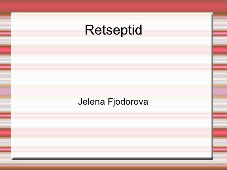 retseptid