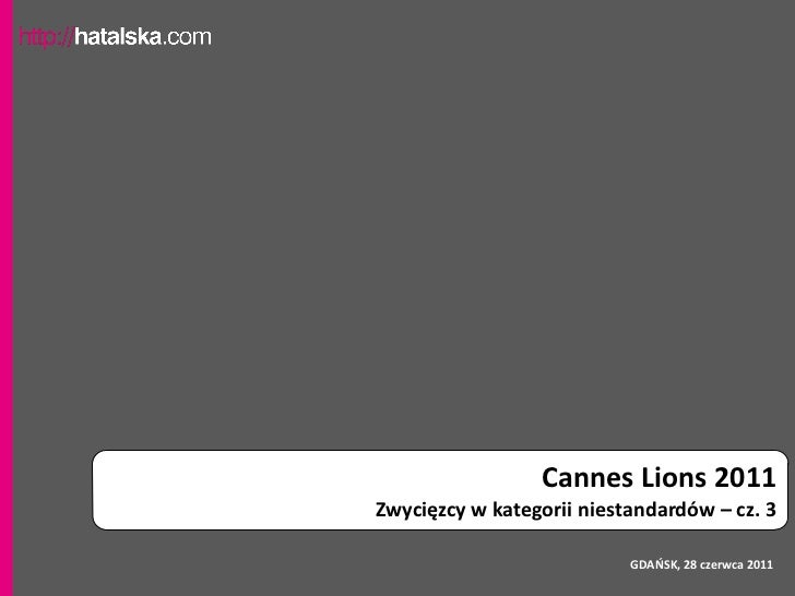 Cannes Lions - Media