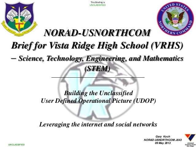 Vista Ridge STEM Brief 20130509