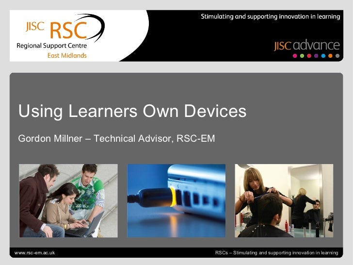 Using learners' own devices