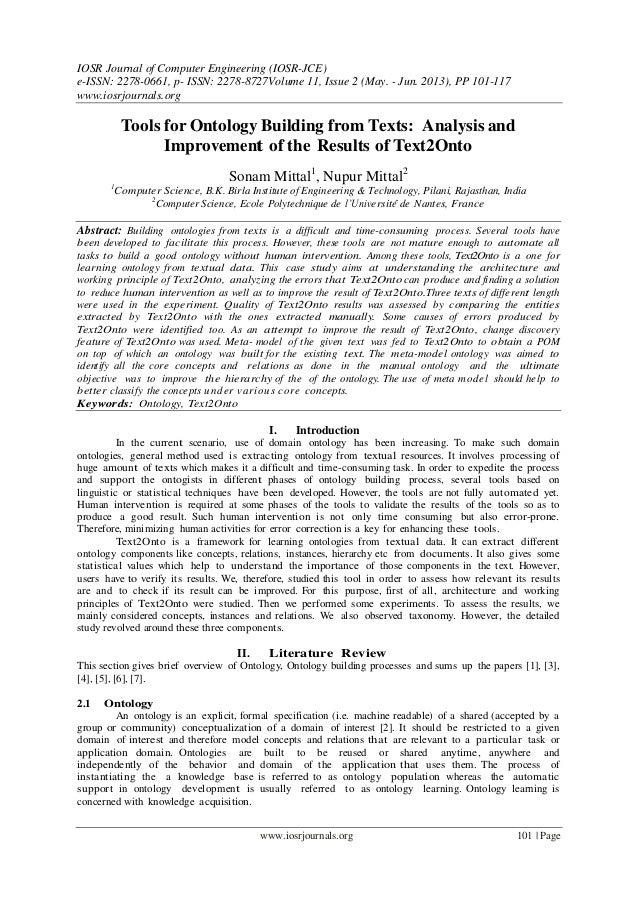 IOSR Journal of Computer Engineering (IOSR-JCE) e-ISSN: 2278-0661, p- ISSN: 2278-8727Volume 11, Issue 2 (May. - Jun. 2013)...