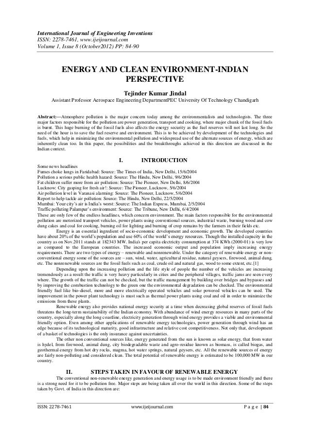 International Journal of Engineering InventionsISSN: 2278-7461, www.ijeijournal.comVolume 1, Issue 8 (October2012) PP: 84-...