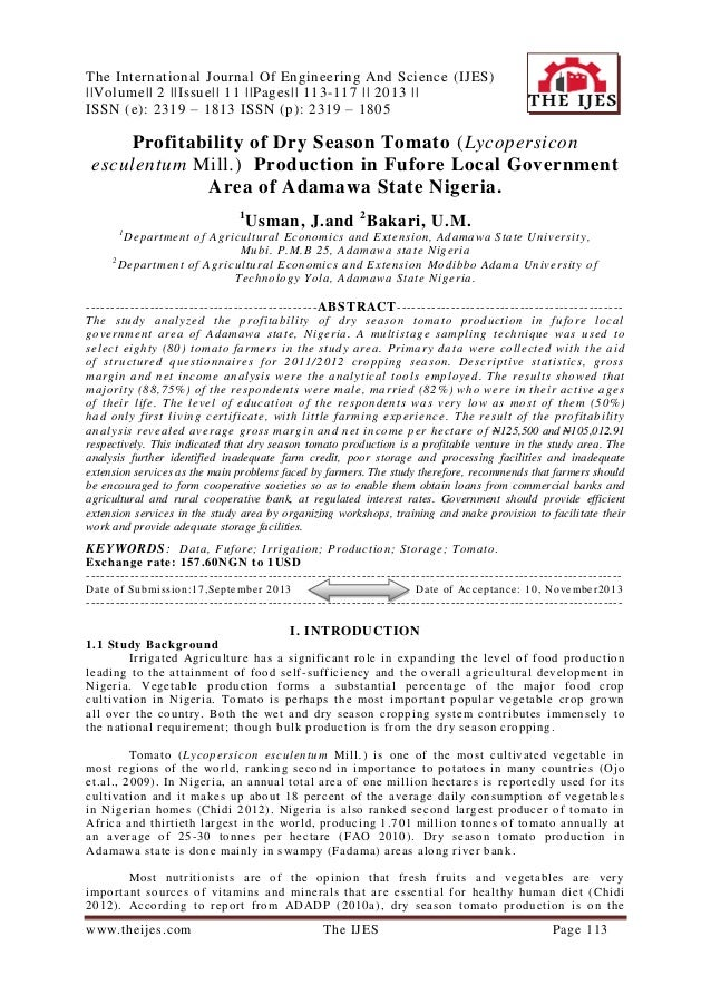 The International Journal Of Engineering And Science (IJES) ||Volume|| 2 ||Issue|| 11 ||Pages|| 113-117 || 2013 || ISSN (e...