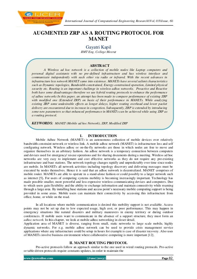 International Journal of Computational Engineering Research||Vol, 03||Issue, 6|| www.ijceronline.com ||June||2013|| Page 8...