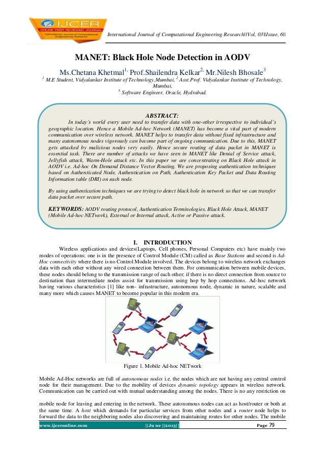 International Journal of Computational Engineering Research||Vol, 03||Issue, 6|| www.ijceronline.com ||Ju ne ||2013|| Page...