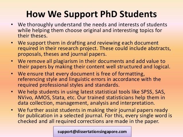 Masters Dissertation Help