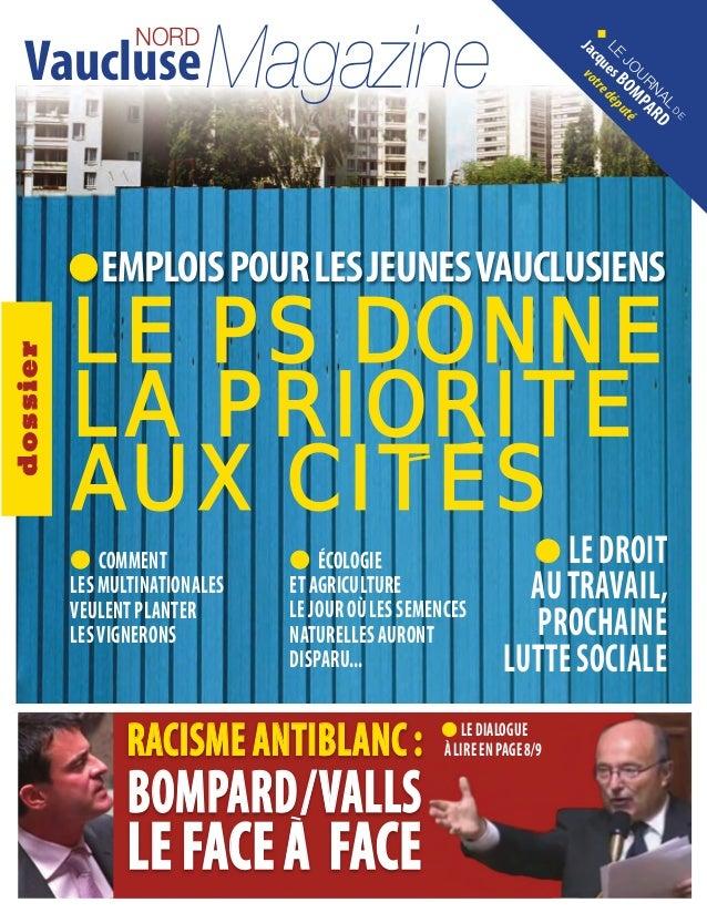 Vaucluse Magazine                  NORD                                                                          N cqu o t...