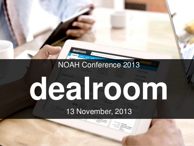 Dealroom.co - NOAH13 London