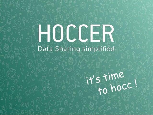 Hoccer - NOAH13 London