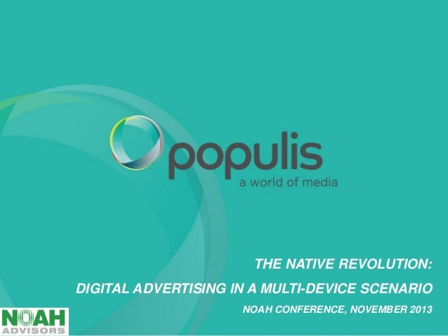 Populis - NOAH13 London
