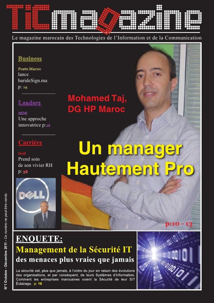 TICmag azine                                                             Le magazine marocain des Technologies de l'Inform...