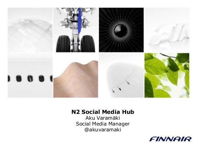 Yhteisöllinen sisällöntuotanto: Case Finnair - Aku Varamäki